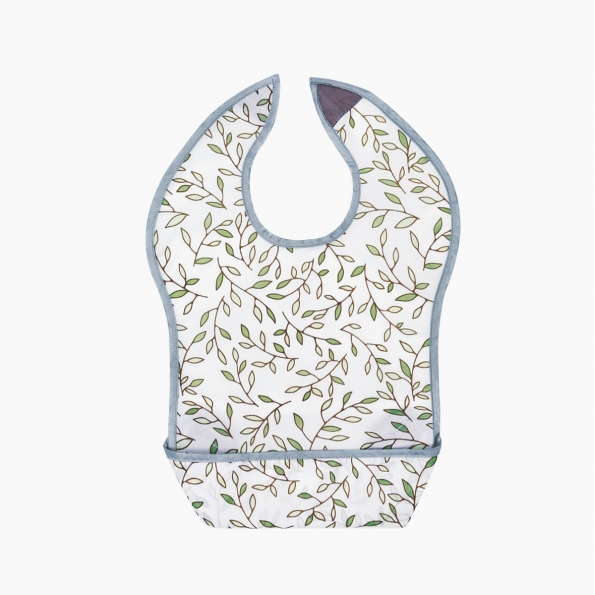 Adorable Waterproof Bib / Italian manor / 17007-1