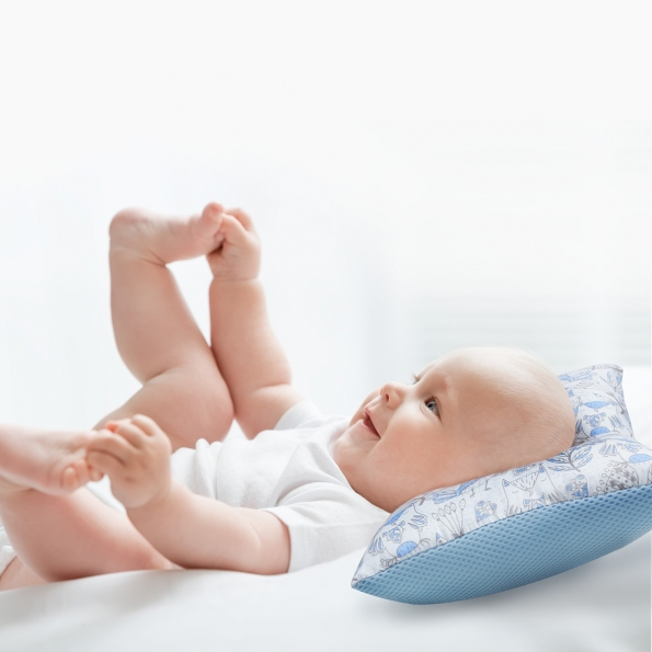 Air+ Baby Head Shaping Pillow / Diamond lattice / 17025-2