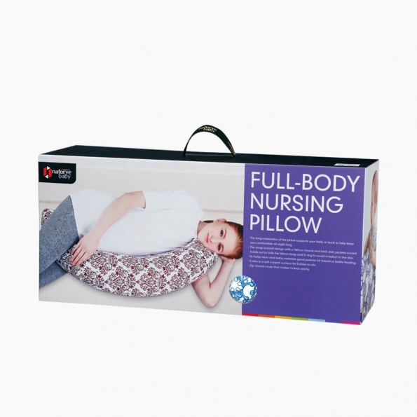 Full-body nursing pillow / Pacific waves / 16006_package