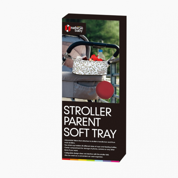 Stroller Parent Soft Tray / Burgundy / 19003_package