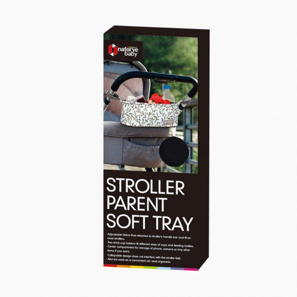 Stroller Parent Soft Tray / Black Knight / 19004_package