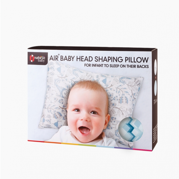 AIR+ Baby Neck Support Pillow / Blue building blocks / 17024_package