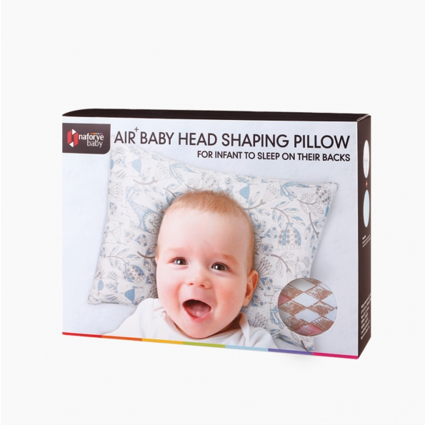 Air+ Baby Head Shaping Pillow / Diamond lattice / 17025_package