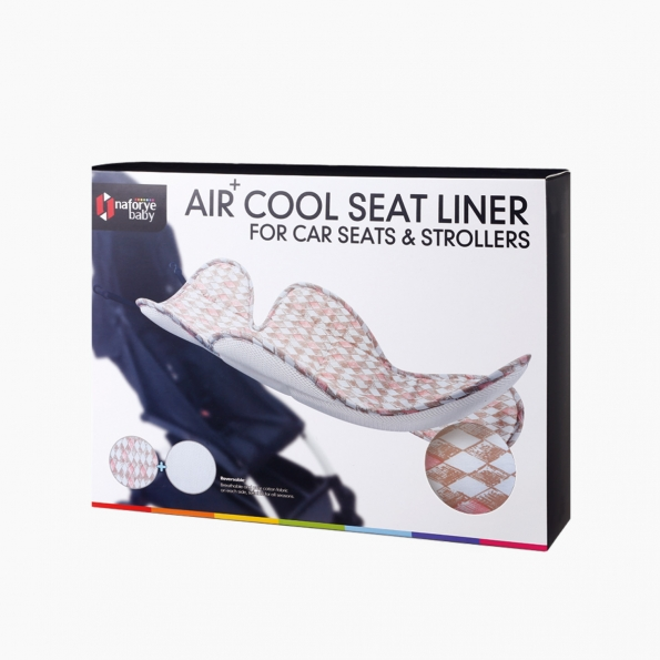 Air+ Cool Seat Liner For Car Seats & Strollers / Diamond lattice / 19016_package