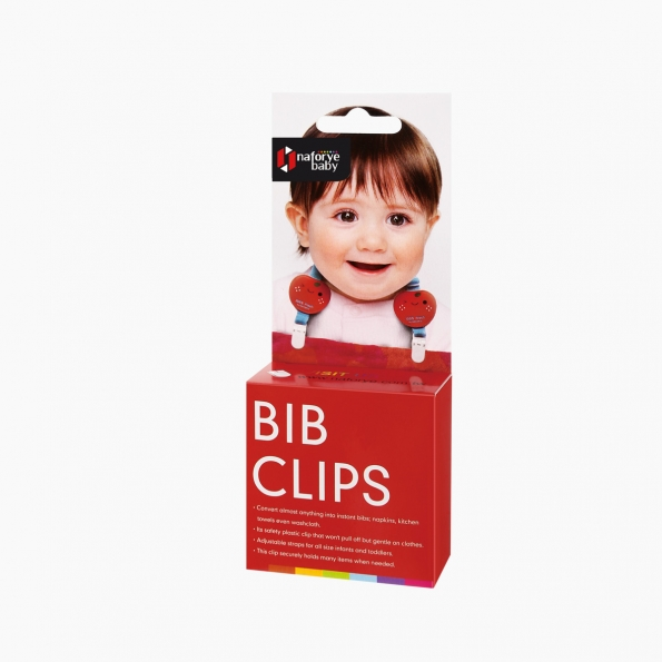 Bib Clips / Strawberry / 99302_package