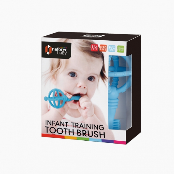 Infant Training Toothbrush / Blue / 18005_package