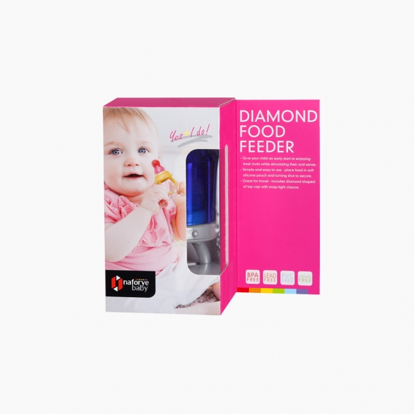 Diamond Food Feeder / Blue / 18017_package