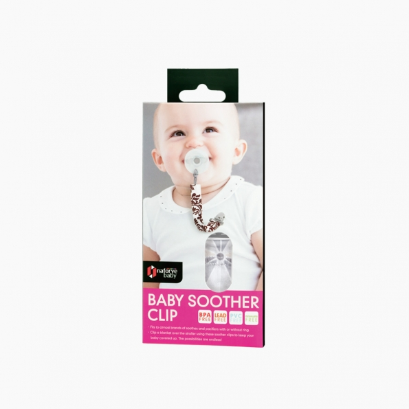 Baby Soother Clip / Black Knight / 21004_package