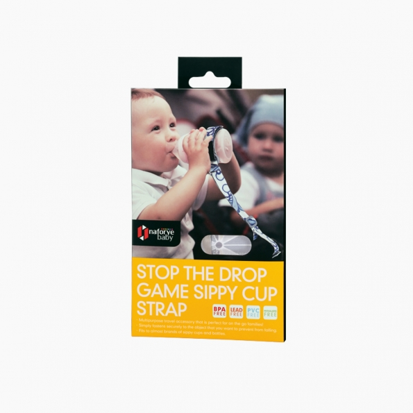 Stop the Drop Game Sippy Cup Strap / Black Knight / 21008_package