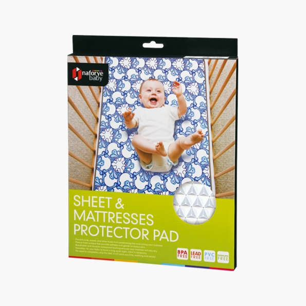 Sheet and Mattresses Protector Pad / Black Knight / 17004_package