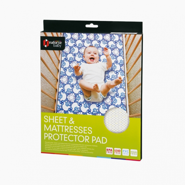 Sheet and Mattresses Protector Pad / Lucky yellow / 17005_package