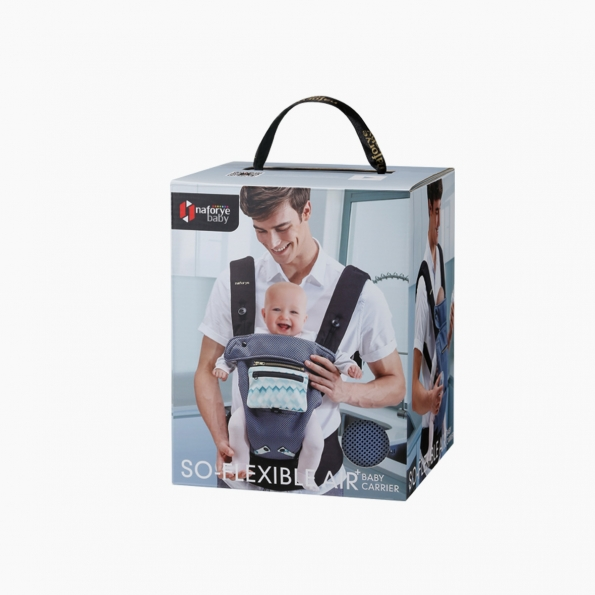 So-Flexible AIR+ Baby carrier / Blue building blocks / 20014_package