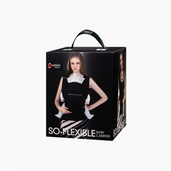 So-Flexible Baby carrier / Black Knight / 20004_package
