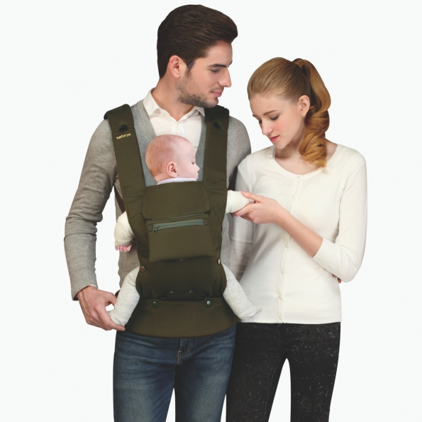 So-Flexible Baby carrier / Burgundy / 20003-2