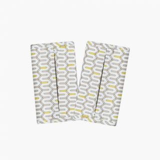 Baby Carrier AIR⁺ Teething pads / Lucky yellow / 20015-1