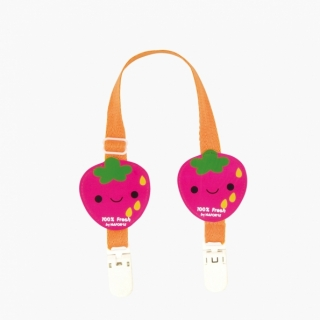 Bib Clips / Strawberry / 99302-1