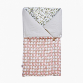 4-in-1 Swaddle Pouch & Blanket / Diamond lattice / 17040-1