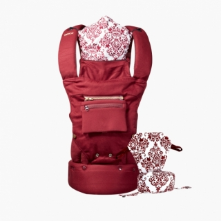 So-Flexible Baby carrier / Burgundy / 20003-1