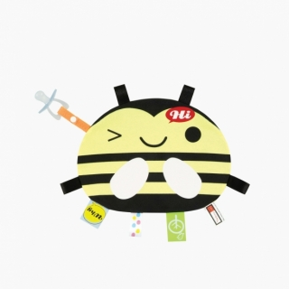 Labels Cuddle Blanket / Bee / 99550-1