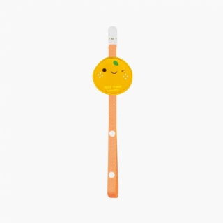 Baby Pacifier Clip / Tangerine / 99312-1