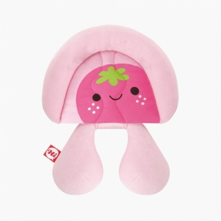 Baby-Head-&-Neck-Supporter / Strawberry  / 99698-1