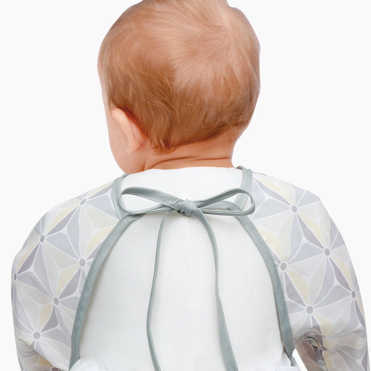 naforye baby Long Sleeve Waterproof Bib