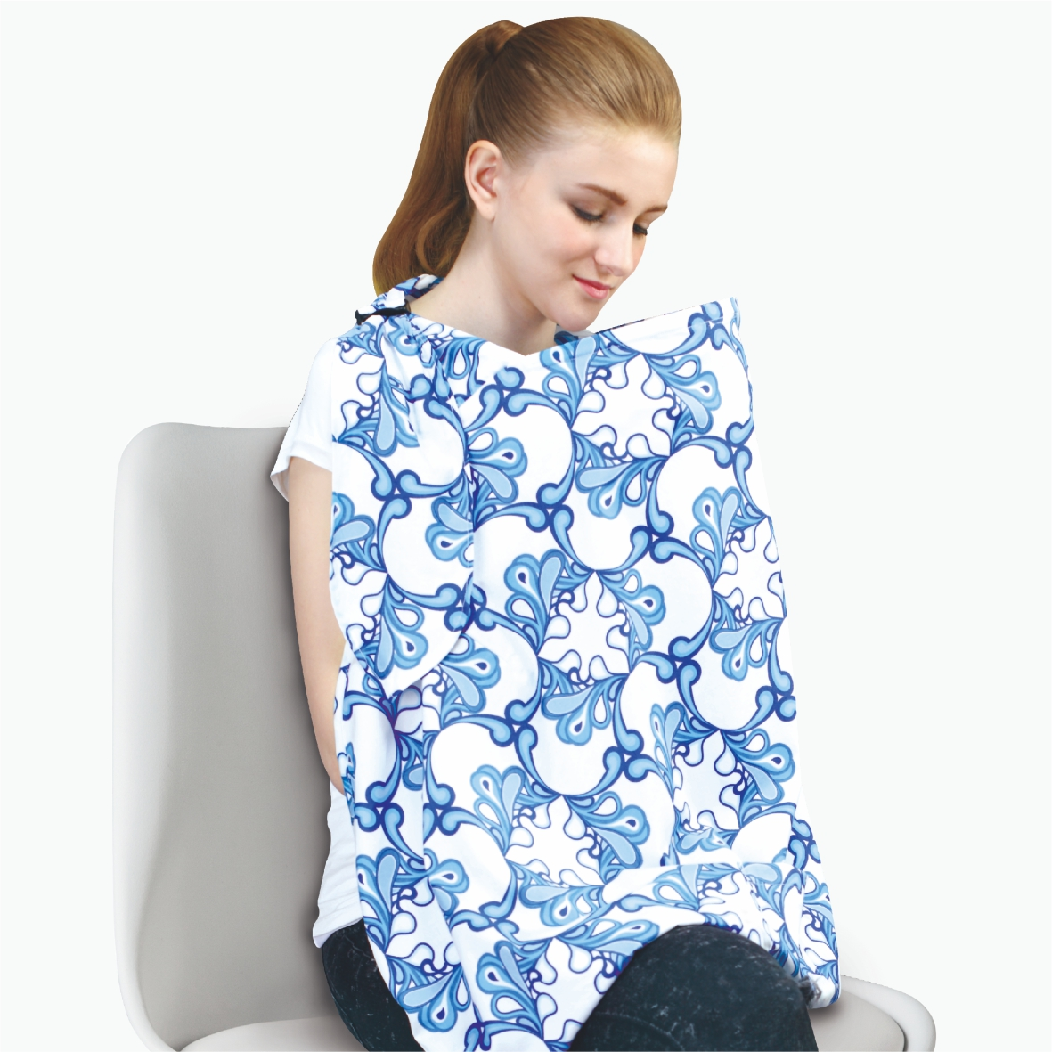 naforye baby Hide-And-Seek Baby Nursing Cover