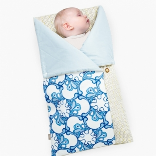4-in-1 Swaddle Pouch & Blanket / Owl / 17041-2