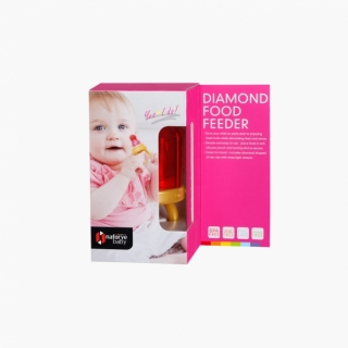 Diamond Food Feeder / Red / 18016_package