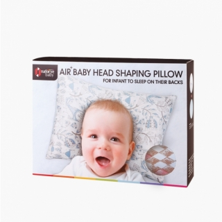 AIR+ Baby Neck Support Pillow / Diamond lattice / 17025_package