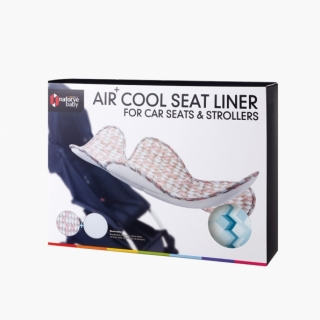Air+ Cool Seat Liner For Car Seats & Strollers /Blue building blocks / 19015_package