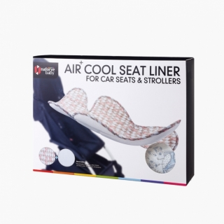 Air+ Cool Seat Liner For Car Seats & Strollers / Owl  / 19017_package
