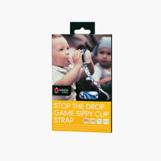 Stop the Drop Game Sippy Cup Strap / Pacific waves / 21006_package