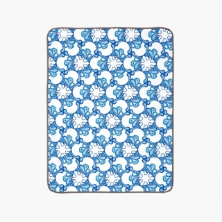 Sheet and Mattresses Protector Pad / Pacific waves / 17002-1