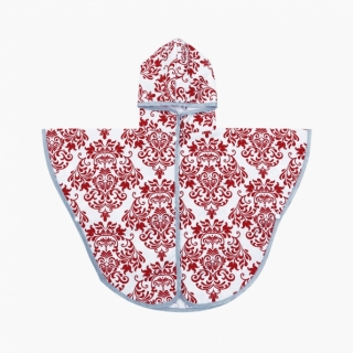 Toddler Rain Poncho / Burgundy / 17021-1