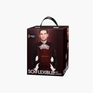 So-Flexible Baby carrier / Burgundy / 20003_package